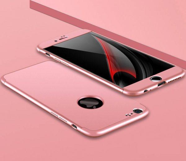360 fok pattintós (Pink)Iphone 6 Logó