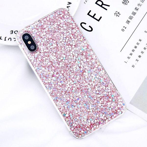 Konfektis szilikon iPhone x (Pink)