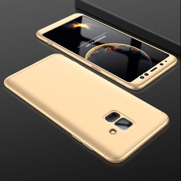 Samsung A8 Pattintós (Arany)