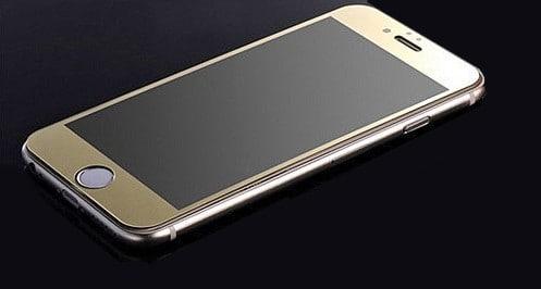 arany tükrös elő lap