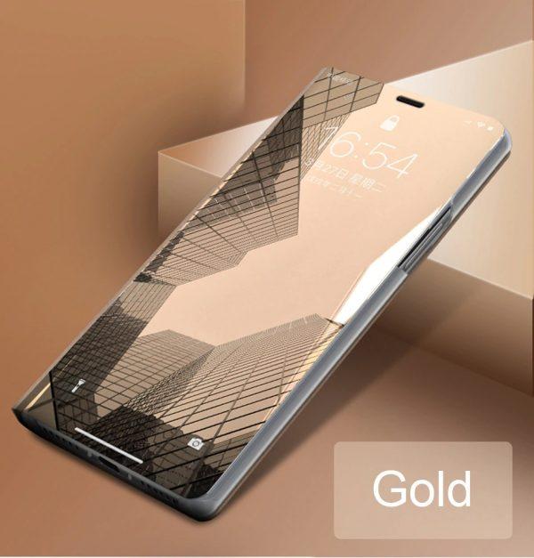 iPhone flip tok (arany)